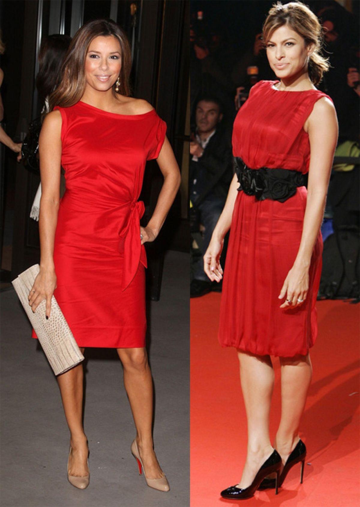 Фото девушек в красных колготках в синем платье 17 фотография
