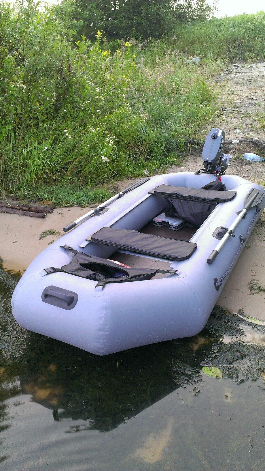 лодка стрелка 270