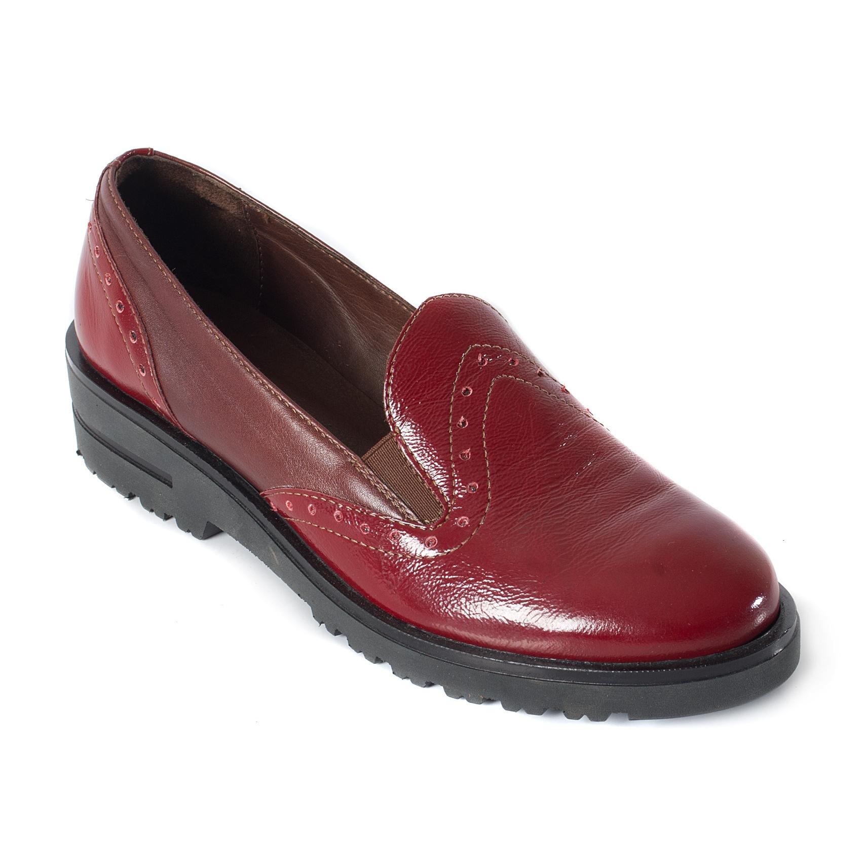 Туфли на широкую ногу женскую