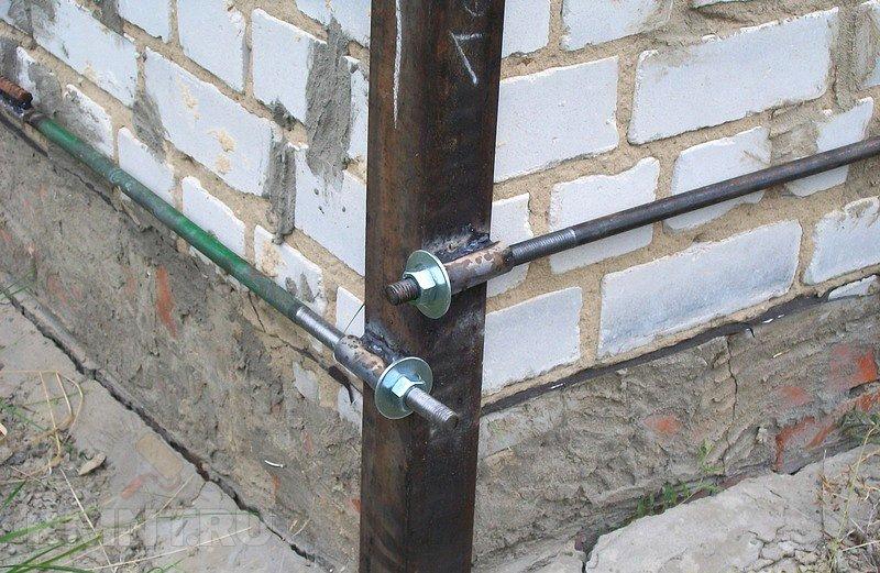 как укрепить стену дома