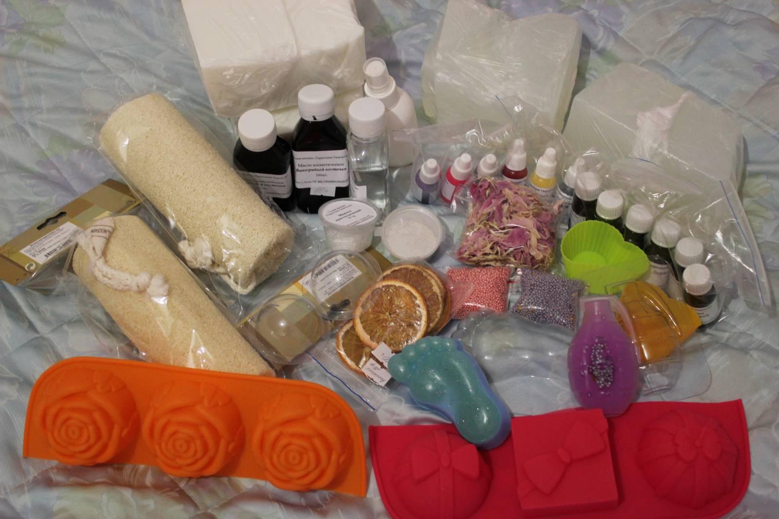Набор мыловарение в домашних условиях