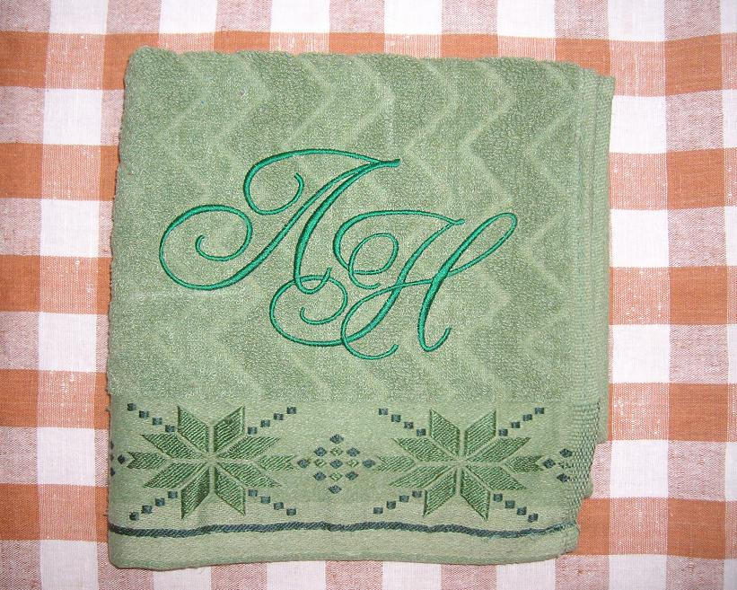 Вышивка на полотенце своими руками 95