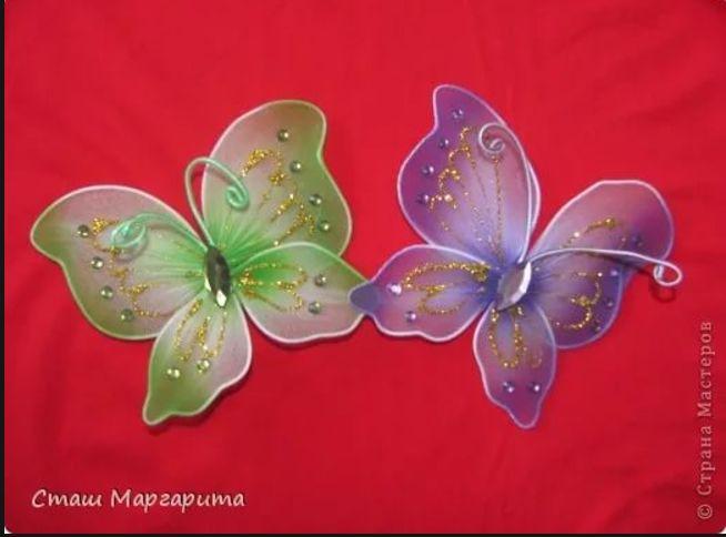 Бабочка своими руками мастер класс с пошаговым фото 53