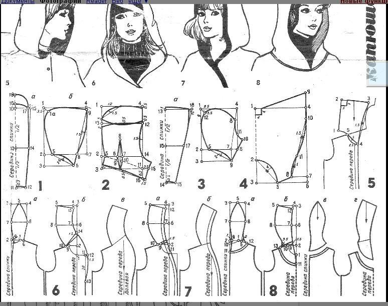 Как сшить капюшон к куртке 72