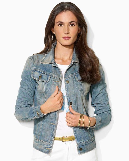 джинсовая куртка женская для полных фото