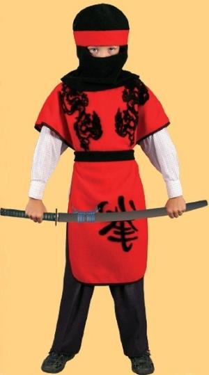 Новогодние костюмы для мальчиков самурай своими руками