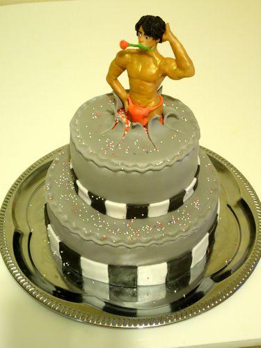 Фото торт стриптизер