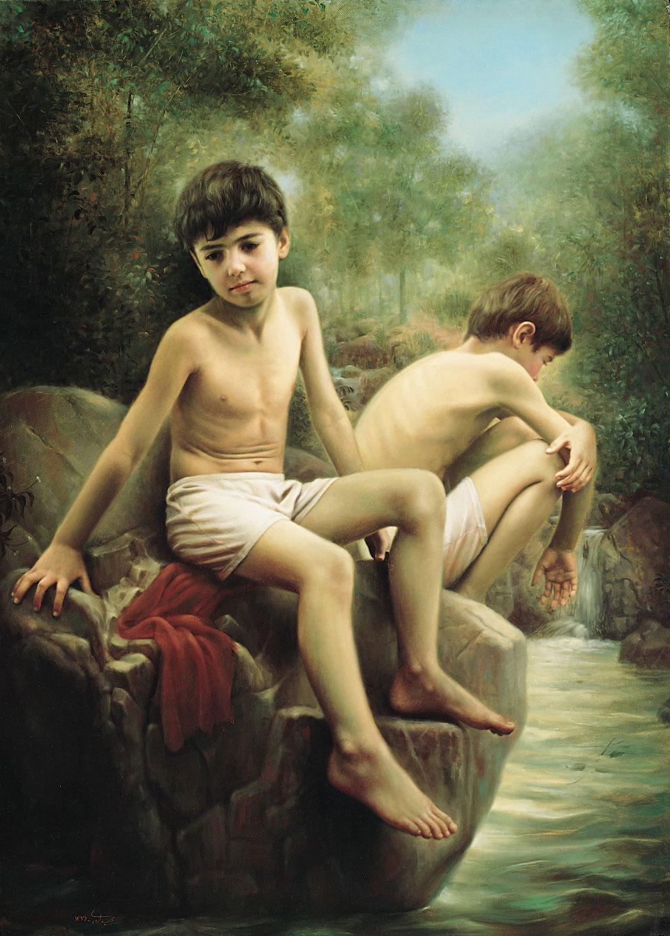 Обнаженные Девочки И Мальчики