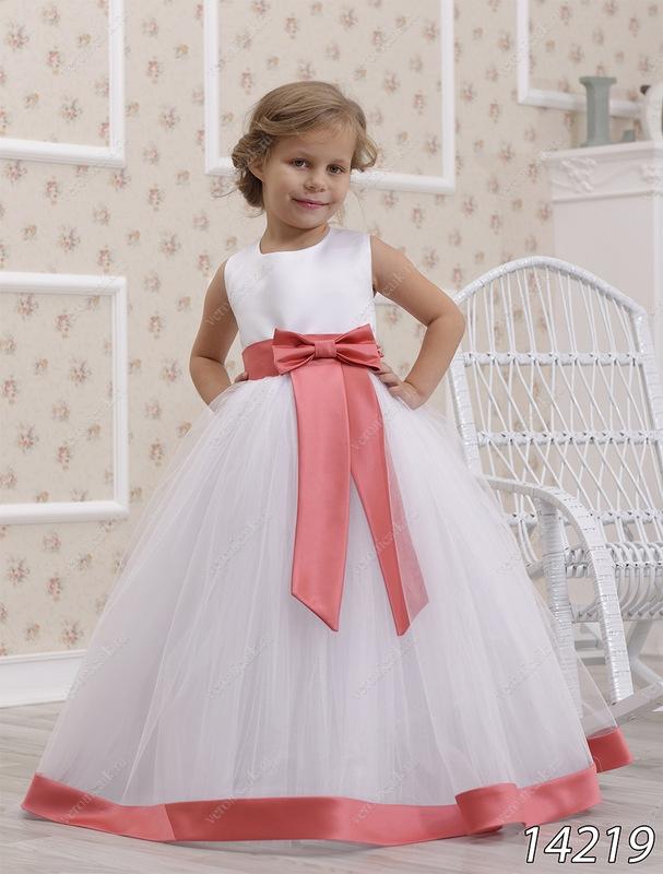 Детское бальное платье фото