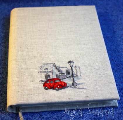 Вышивка для обложек блокнотов