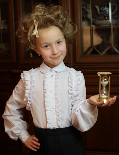 Белая Блузка Для Девочки