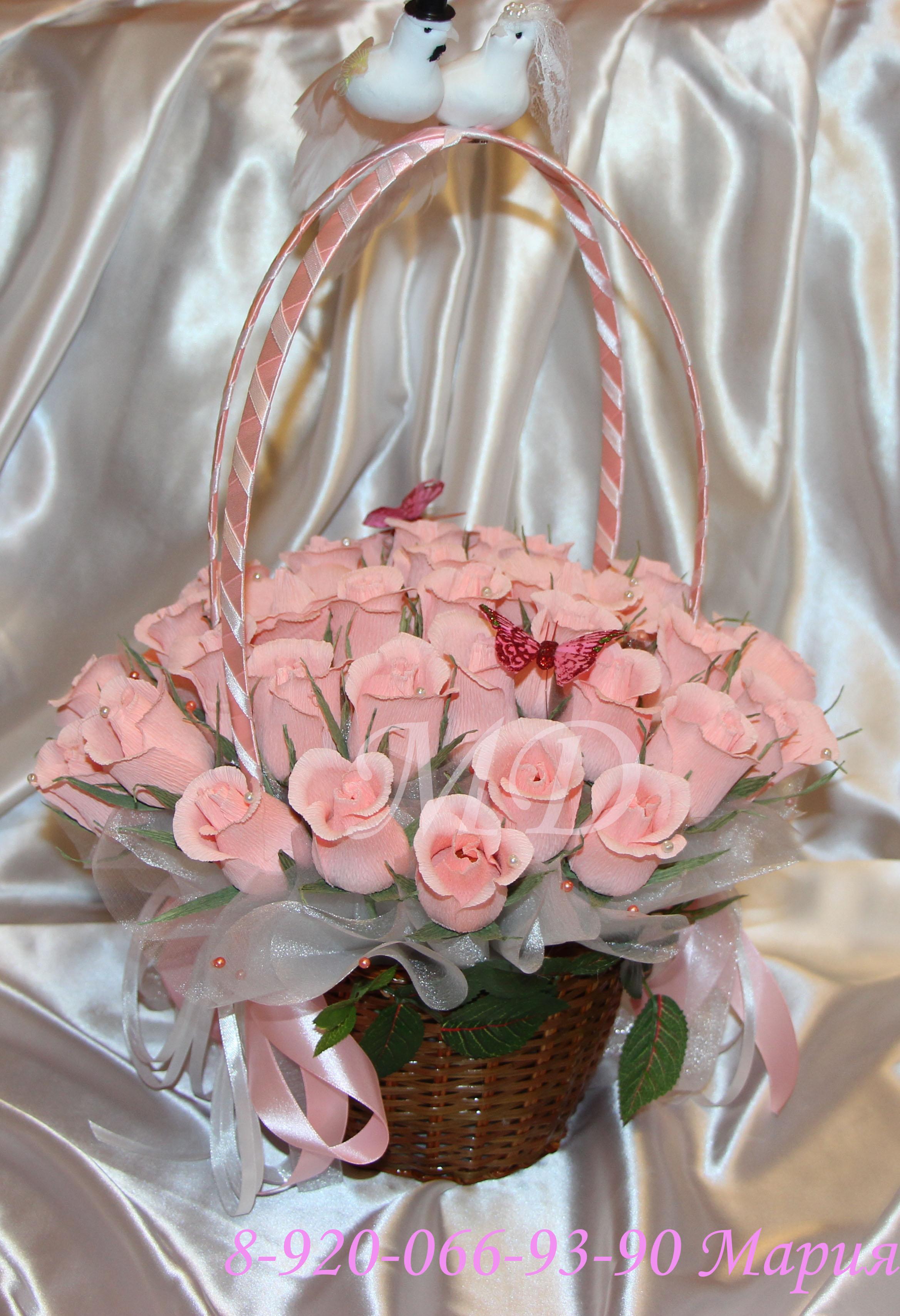 Букет на свадьбу в подарок молодоженам от родных и близких 35
