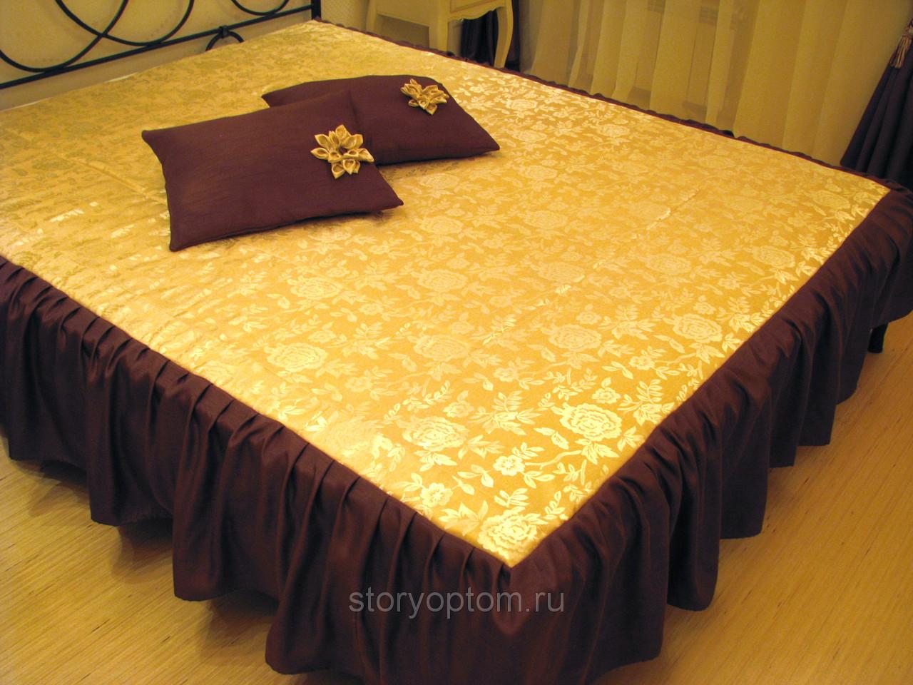 Как сшить покрывало на кровать своими руками мастер 959