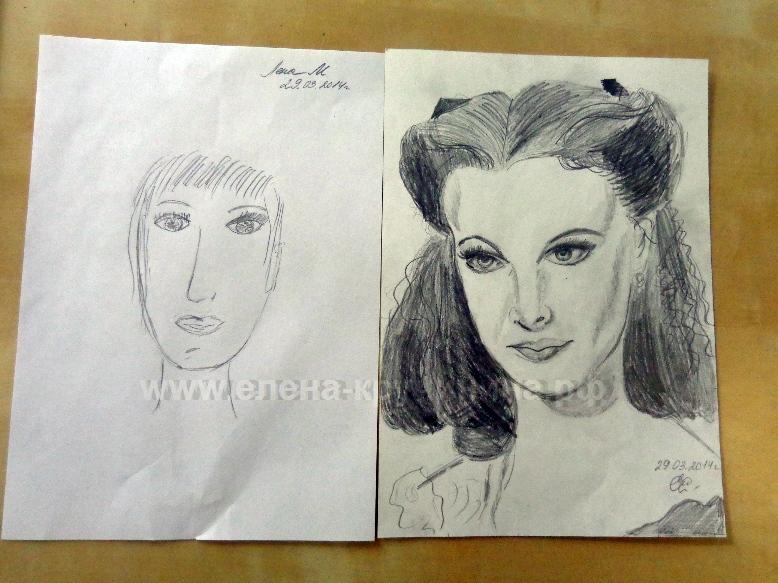 Мастер класс рисование портреты - ЛигоДизайн