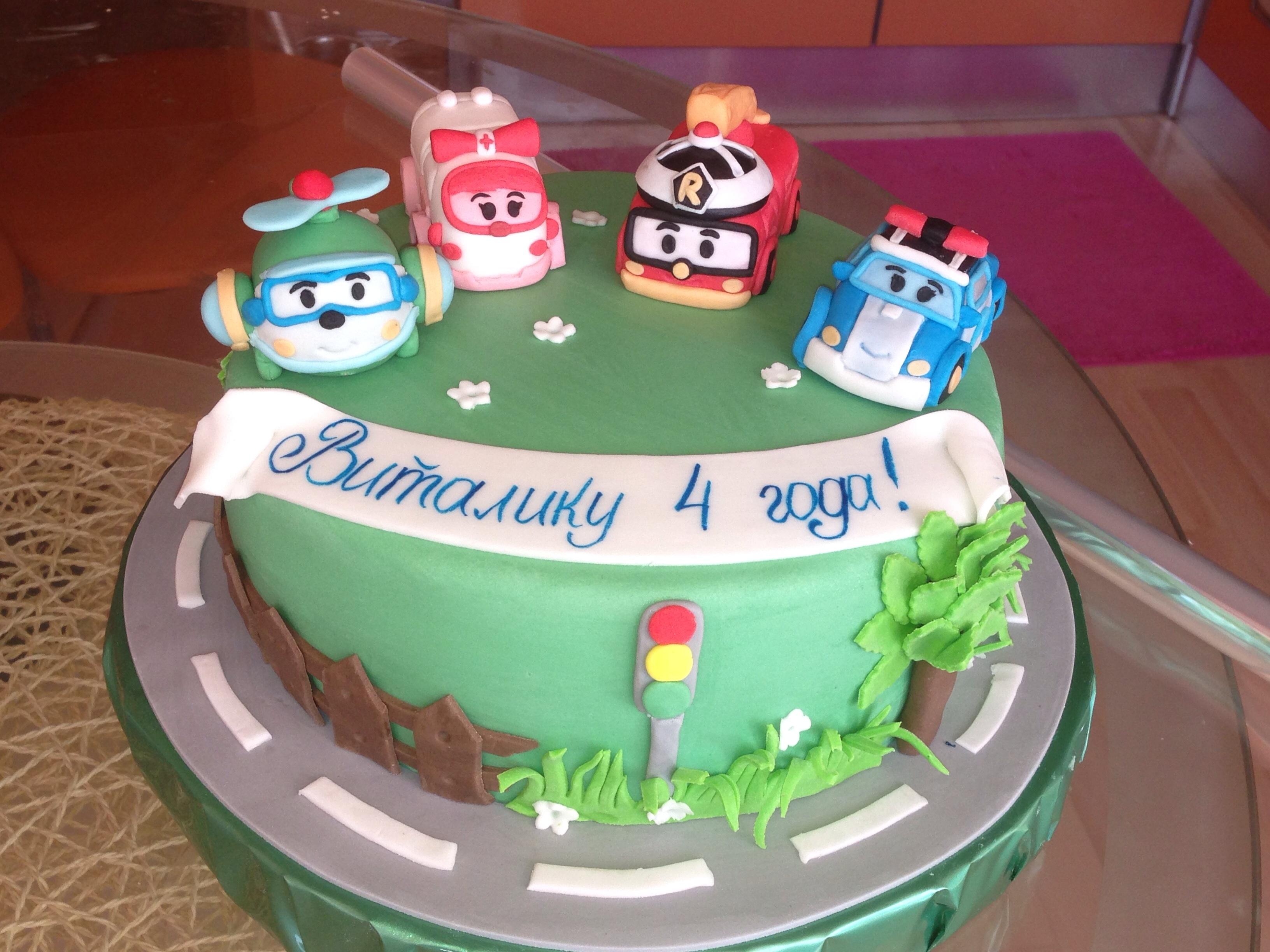 Торт для мальчика 4 года фото 2