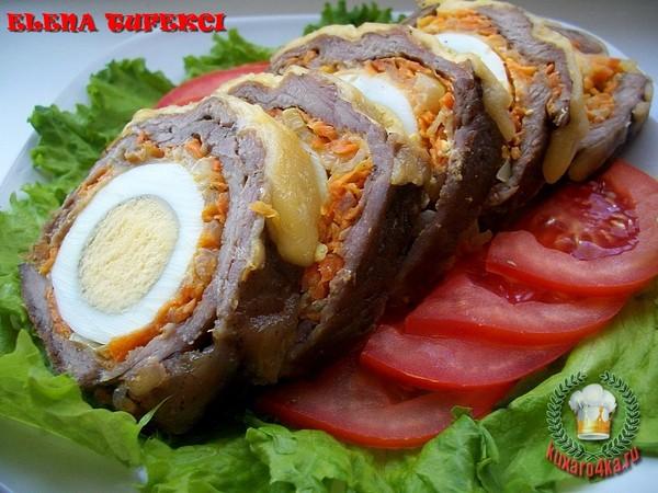 холодные закуски с фото мясные