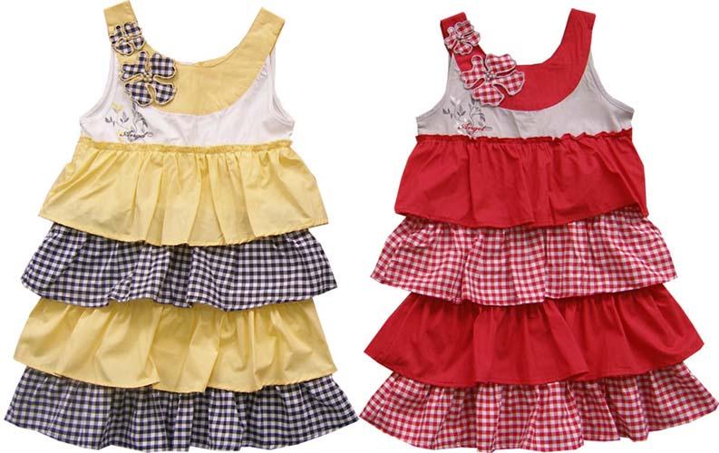 Детское платье с воланами своими руками