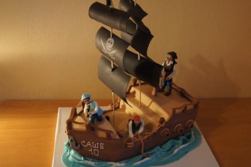 Как сделать торт-корабль своими руками