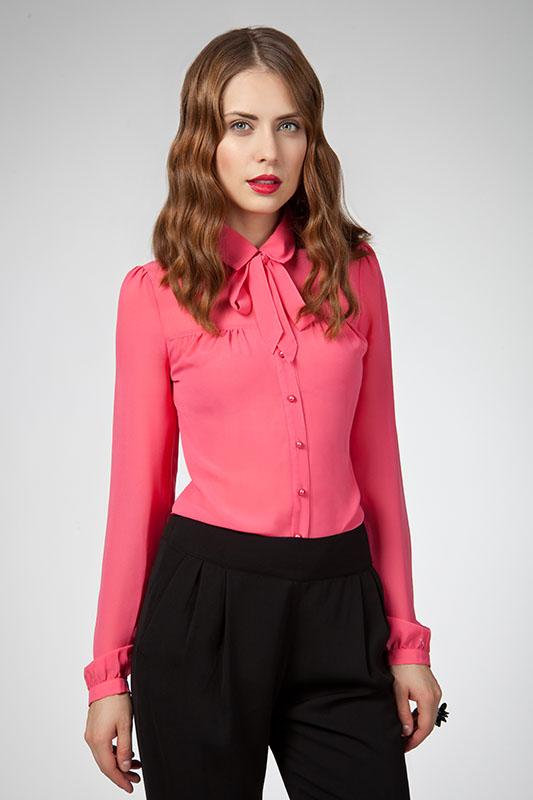 Фиоосеньвая Блузка