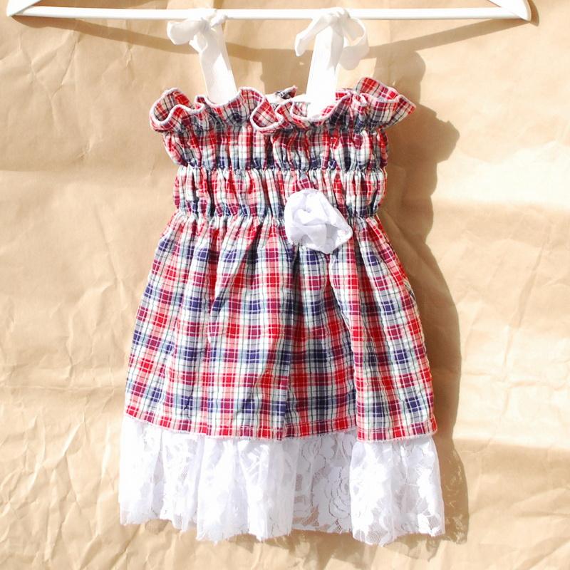 Детское платье на резинке