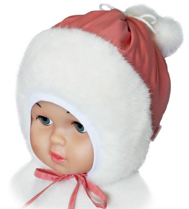 Зимняя детская шапка сшитая