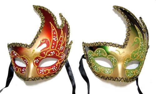 Декорирование венецианской маски своими руками
