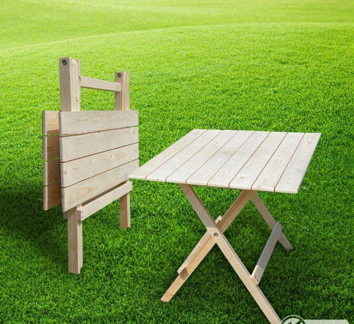 Как сделать стол для отдыха на природе