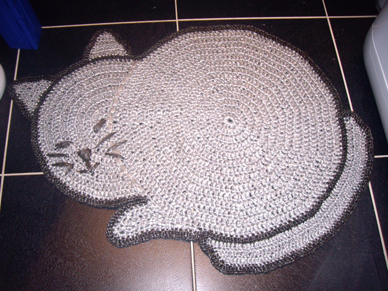 коврики из ниток для вязания схемы