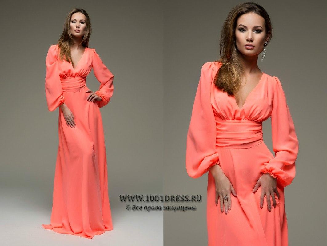 Длинные платье своими руками
