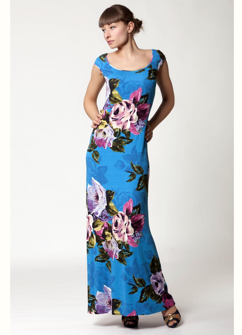 Сшить трикотажное длинное платье своими руками