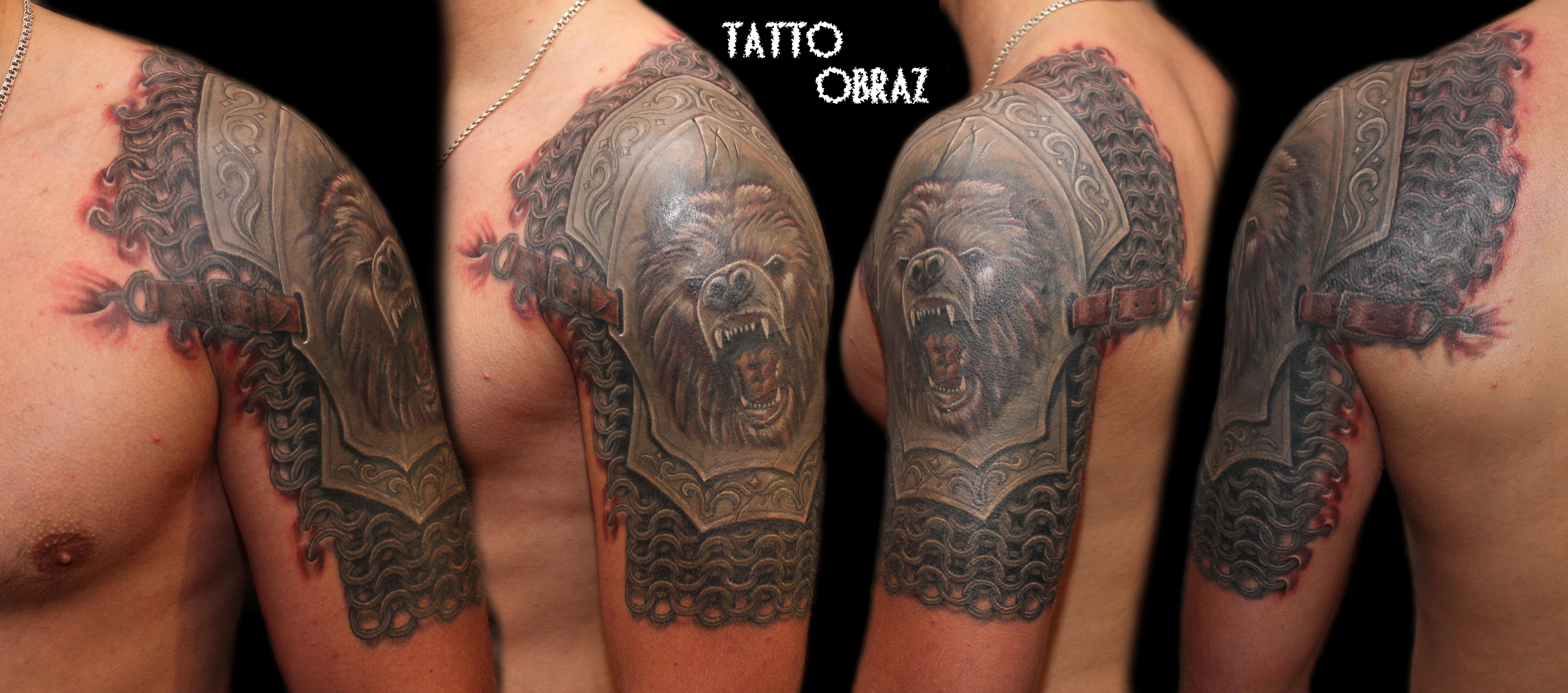 Самые красивые татуировки на плече фото