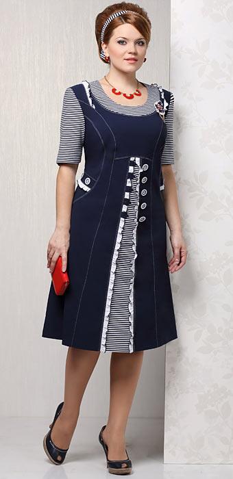 Белорусские летние платья для полных женщин