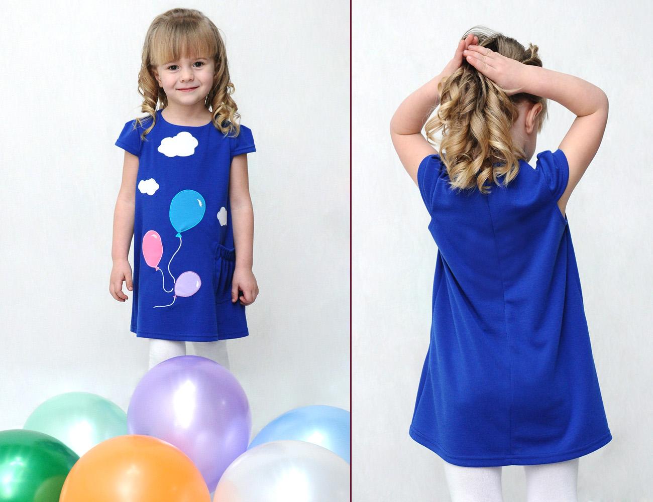 Идеи детских платьев своими руками 29