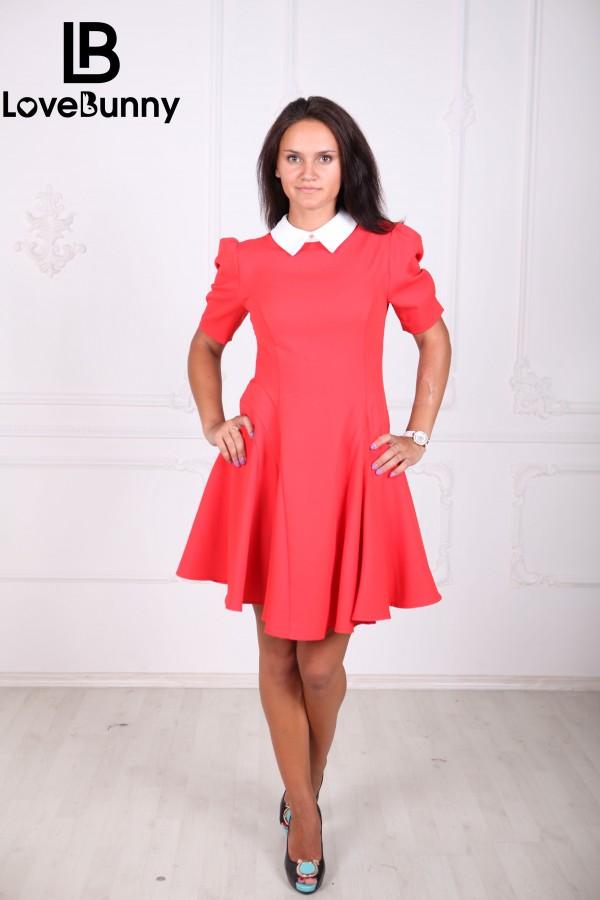 Платье С Воротником Доставка