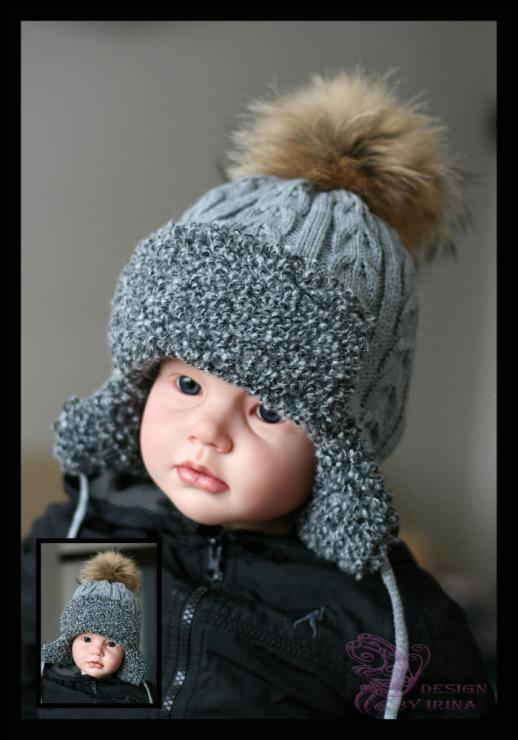 Модные шапки для мальчиков зимние