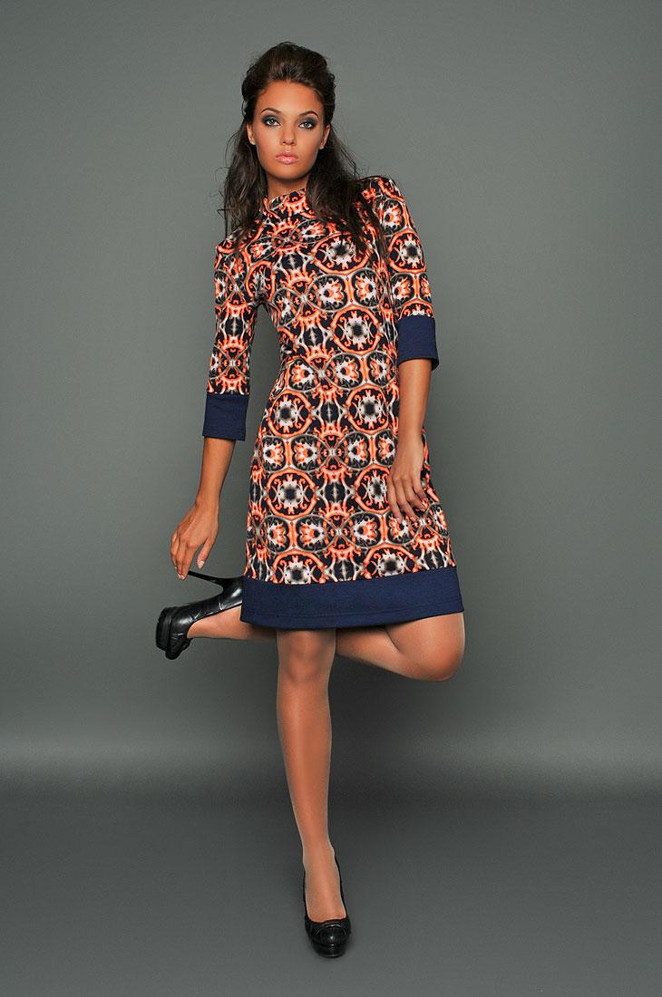 Модель платья из вискозы