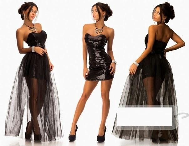 Платья с юбкой сеткой