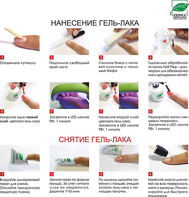 Что необходимо для покрытия гель лаком ногтей в домашних условиях