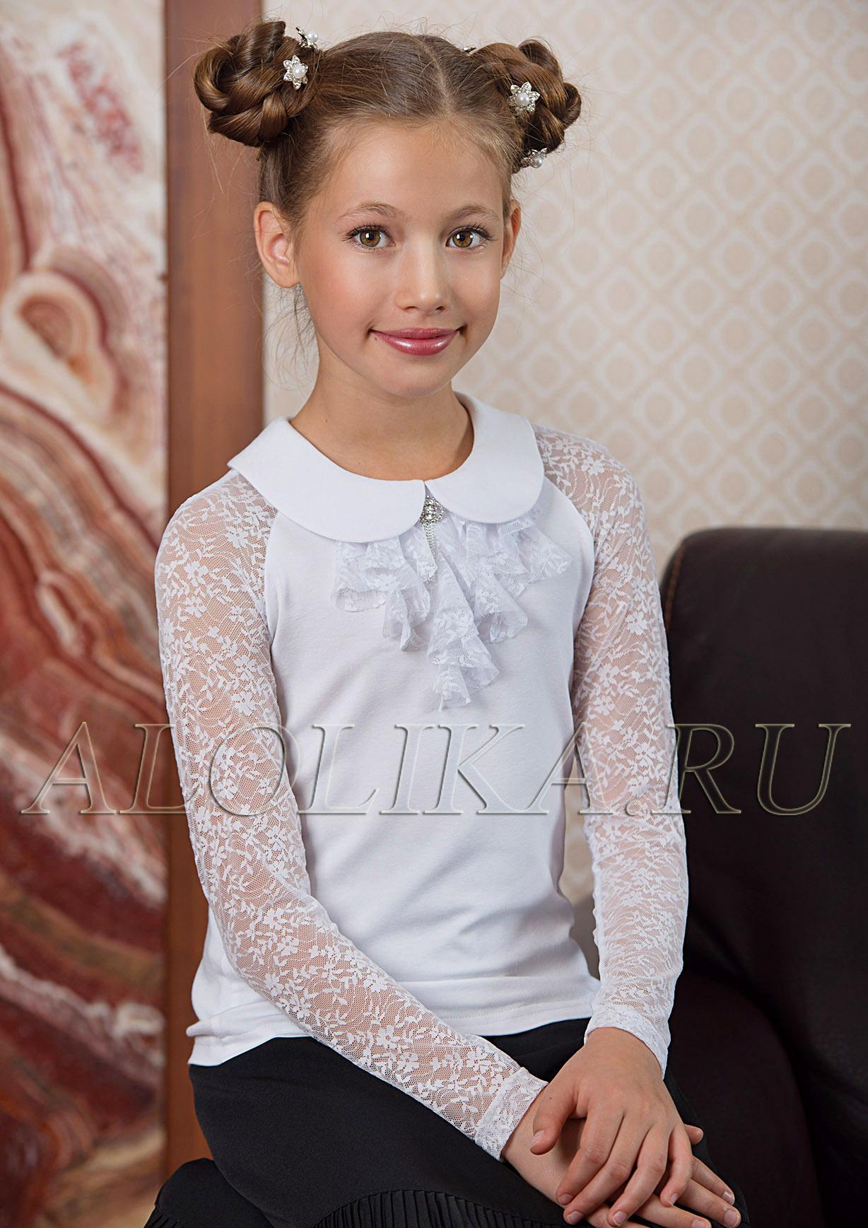 Блузку Для Девочки