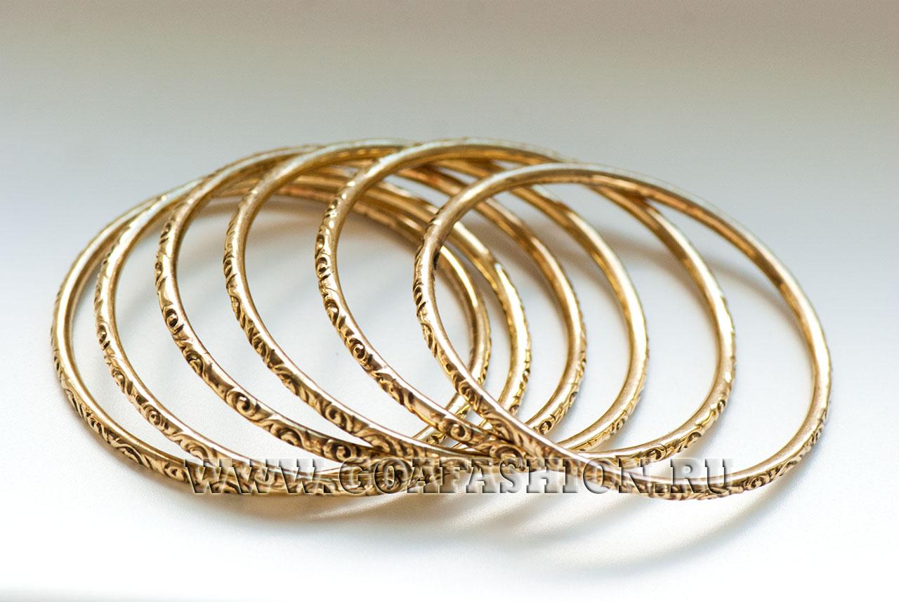 стильные золотые браслеты женские фото
