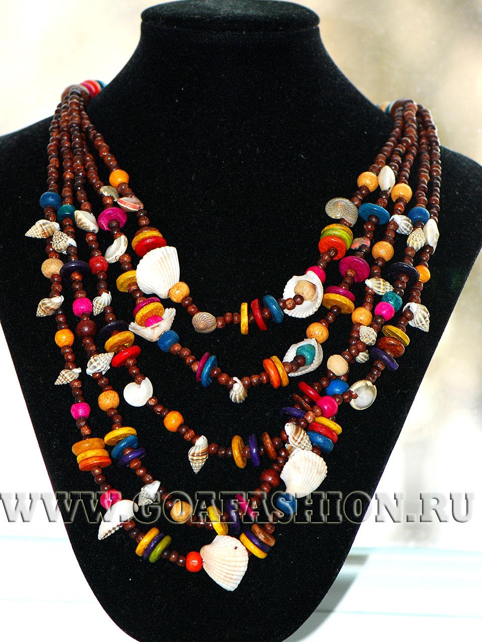 Как делать ожерелье из ракушек своими руками