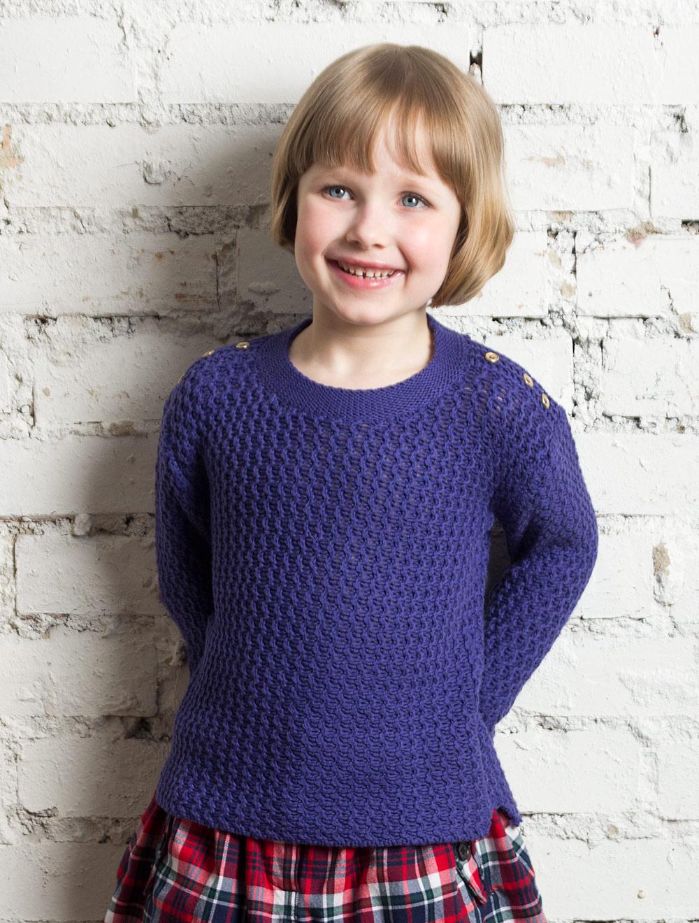 Ажурный Пуловер Для Девочки С Доставкой