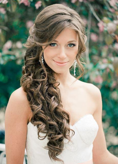 Фото причесок на свадьбу с длинными волосом
