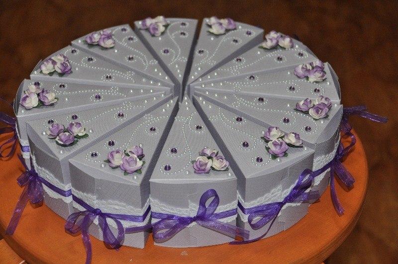 Бумажный торт своими руками фото