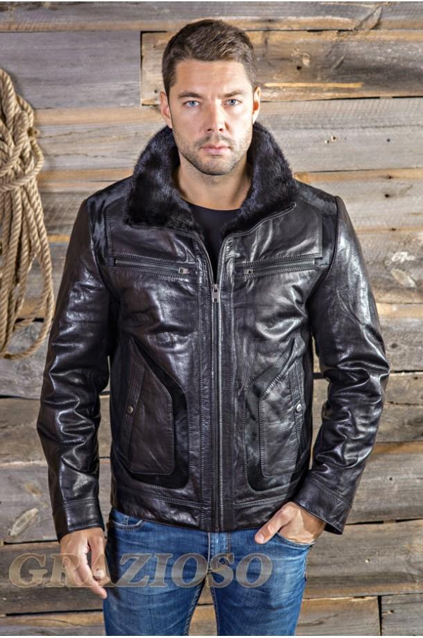 Купить Кожаную Мужскую Куртку В Краснодаре Недорого