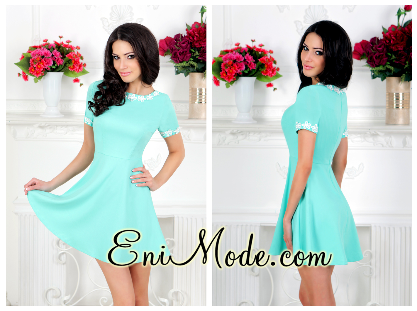Фото платьев коротких и ярких
