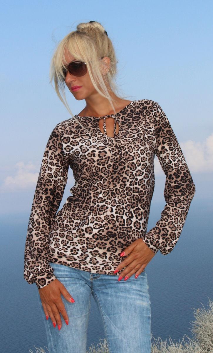 Джемпер Леопардовый