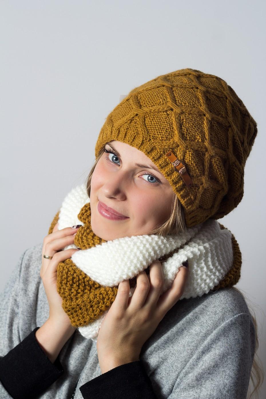 Шапки снуды вязание в фото