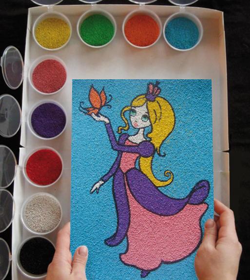картинки для рисования цветным песком на бумаге служб экстренной помощи