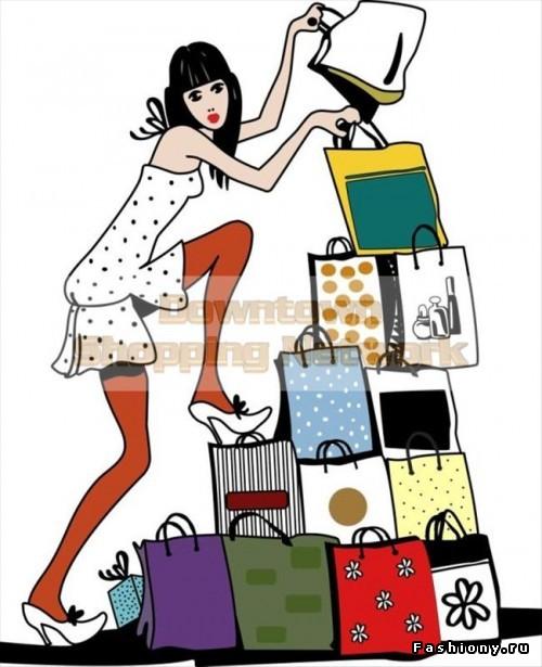 Прикольные картинки о покупках, день святого